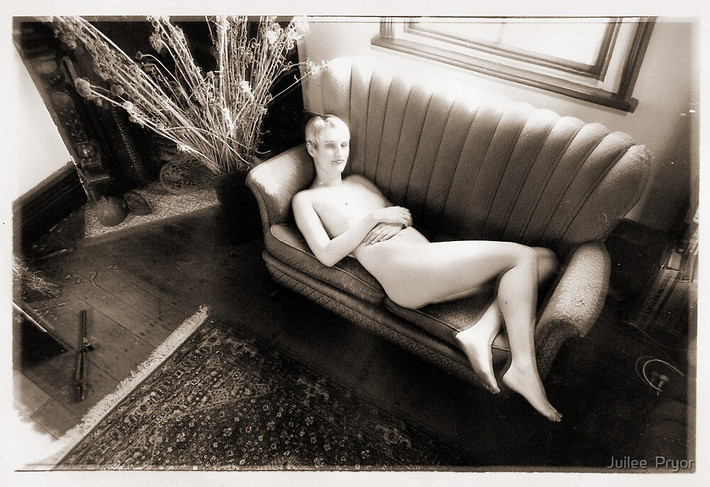 reclining nude by Juilee  Pryor