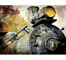 """Three Spot"" Locomotive Photographic Print"