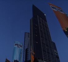 eureka tower by Robert Halupa