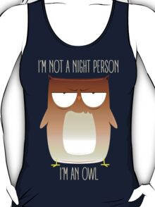 Not A Night Person, I'm An Owl T-Shirt