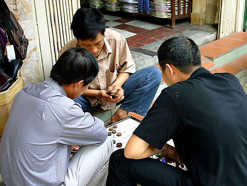 Street Checkers, Vietnam by GetCarter