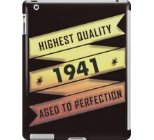 Highest Quality 1941 Aged To Perfection iPad Case/Skin