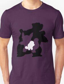 Squirtle Wartortle Blastoise T-Shirt