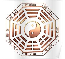 Pa-Kua, Yin Yang, China, symbol of reality Poster