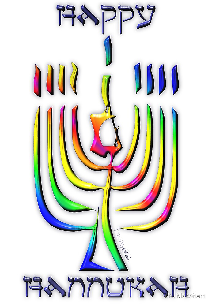 Happy Hannukah by S.N. Makeham