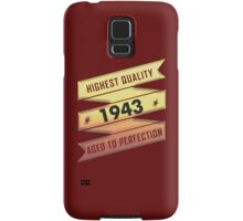 Highest Quality 1942 Aged To Perfection Samsung Galaxy Case/Skin