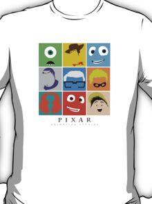 Disney Pixar Characters T-Shirt