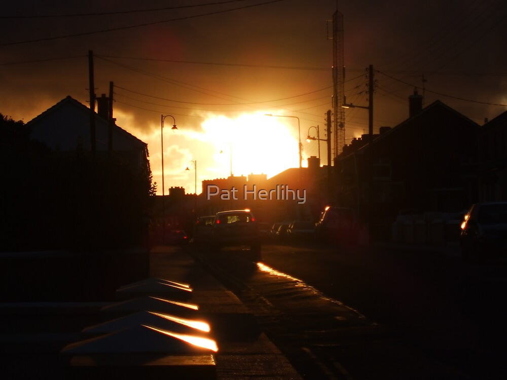 Urban Sunset by Pat Herlihy