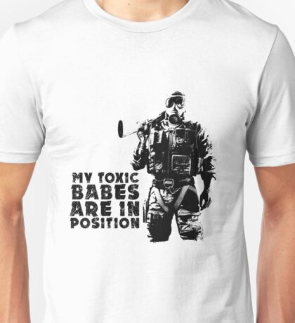 Weathered Smoke Catch Phrase 2 Unisex T-Shirt