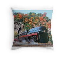 Norfolk & Western #611 - Eggleston, VA Throw Pillow
