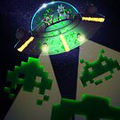 Space Invaders by Aimee Cozza