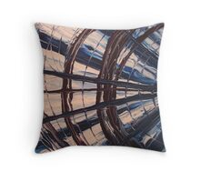 Fan Art Finger Painting Throw Pillow