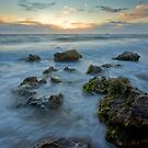 Sunset Surf by AustralianImagery