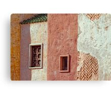 Window and wall -2 Canvas Print