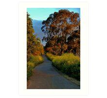 """""""Golden Mile"""" Art Print"""