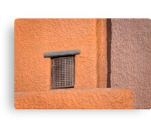 Window and wall -1 Canvas Print