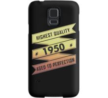 Highest Quality 1950 Aged To Perfection Samsung Galaxy Case/Skin