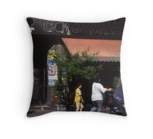 Cafe Anal (Berlin) Throw Pillow