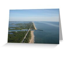 Northern Views over the Sebastian Inlet Greeting Card