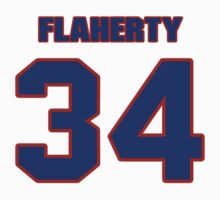 National Hockey player Wade Flaherty jersey 34 by imsport