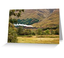 Glenfinnan Viaduct, Scotland (Loch Shiel, Glenfinnan, Scotland) Greeting Card