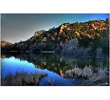 Dawn on Prescott Lake Photographic Print
