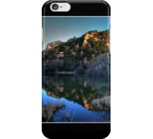 Dawn on Prescott Lake Fine Art Poster iPhone Case/Skin