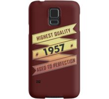 Highest Quality 1957 Aged To Perfection Samsung Galaxy Case/Skin
