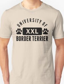 University Of Border Terrier T-Shirt