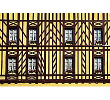 Windows and half-timbering Photographic Print