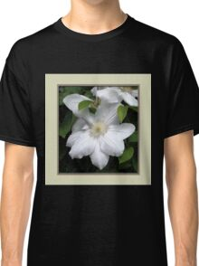 White Clematis Classic T-Shirt