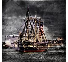 World's oldest commissioned warship afloat - USS CONSTITUTION Photographic Print