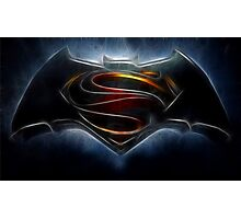 Batman v Superman - Dawn of Justice  Photographic Print