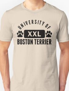University Of Boston Terrier T-Shirt