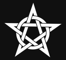 Pentangle - Pentagram - Plain by createdezign