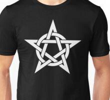 Pentangle - Pentagram - Plain Unisex T-Shirt
