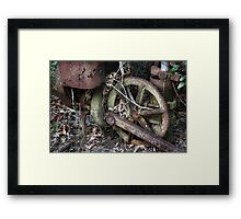 Time Machine Framed Print