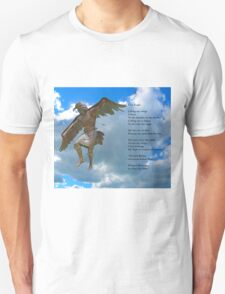 Winged Messenger by Gary Lee Price Unisex T-Shirt