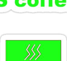 Linux sudo pacman -S coffee Sticker