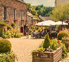 La Gacilly, Brittany, France by Elaine Teague