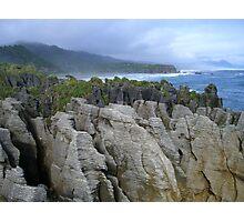 Pancake Rocks, New Zealand Photographic Print
