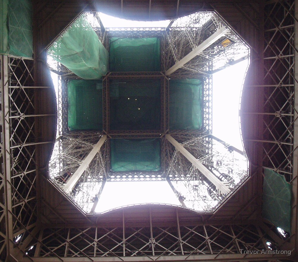 Different View of the Eiffel Tower Paris by Trevor Armstrong