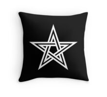 Pentangle - Pentagram - Double Throw Pillow