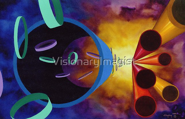 ONE SECOND AFTER THE BIG BANG by VisionaryImagist