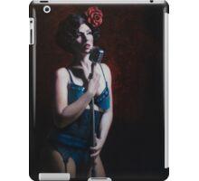 Annie Cherry Singing Burlesque Star iPad Case/Skin