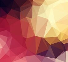 Triangle Abstract 3 by Inimma