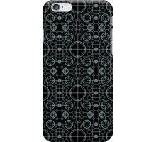 Tron Matrix Geometric iPhone Case/Skin