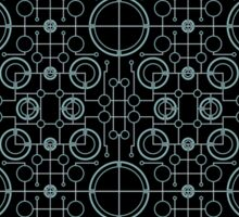 Tron Matrix Geometric Sticker