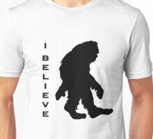 Bigfoot I Believe 3 Unisex T-Shirt