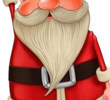 Santa Claus flies Sticker